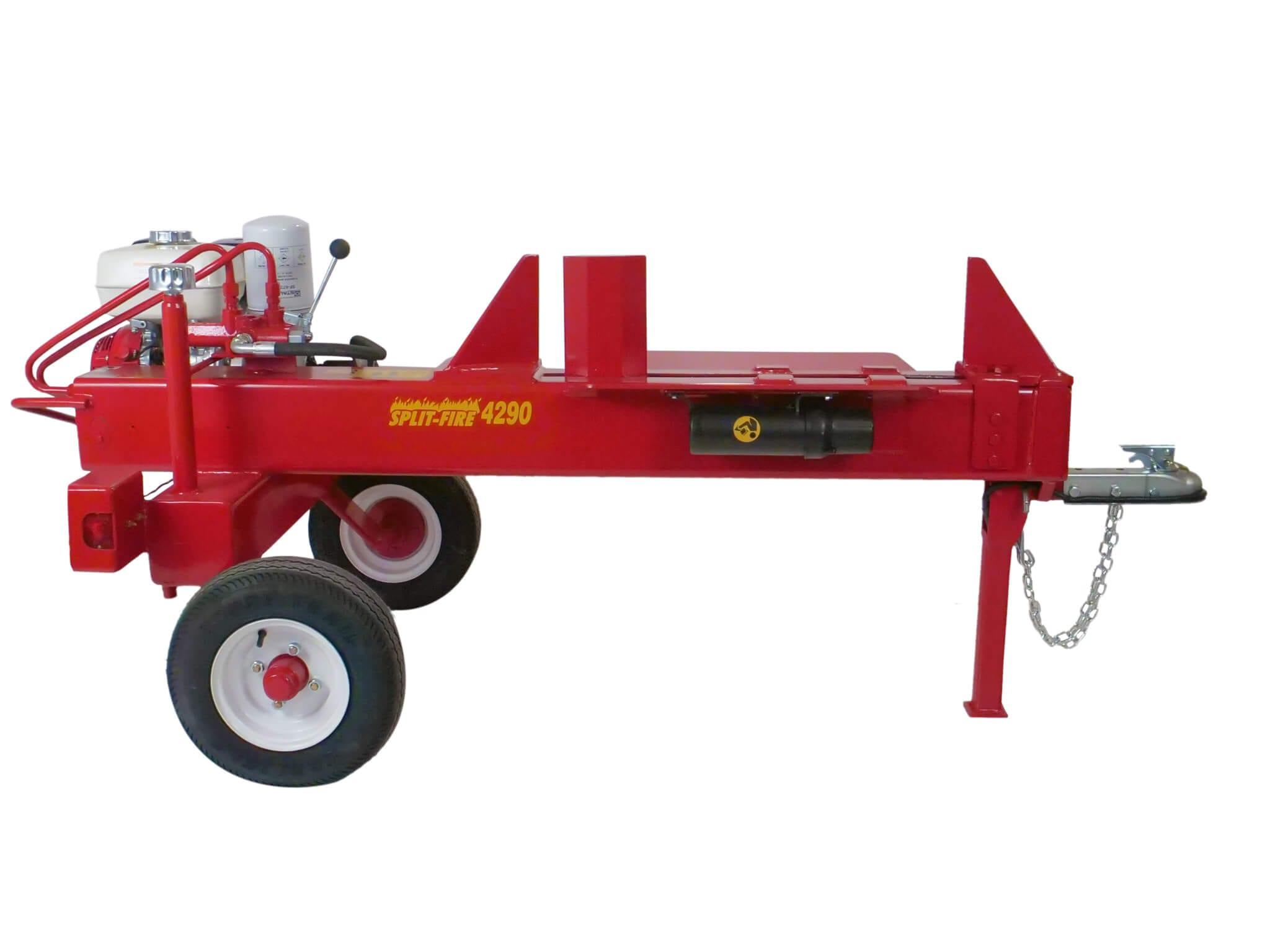 Split - Fire 4290 op trailer